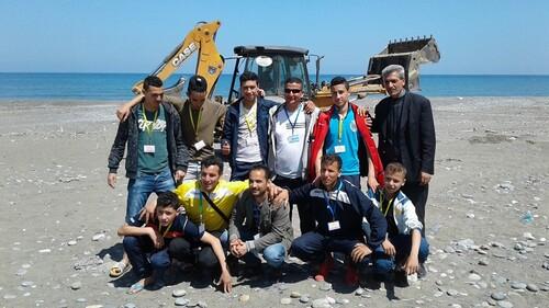 Nettoyage des plages à Melbou, première sortit de Tafrara