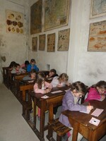 Musée du papier, école 1900 ...