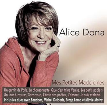 Alice Dona, 2013 mes petites madeleines