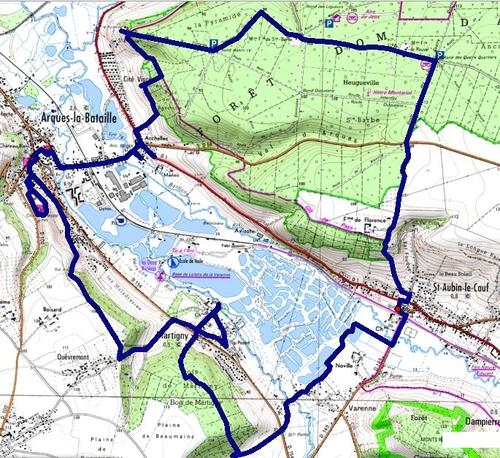 (76) Dans la Vallée de l'Eaulne, de Bellengreville à Envermeu.