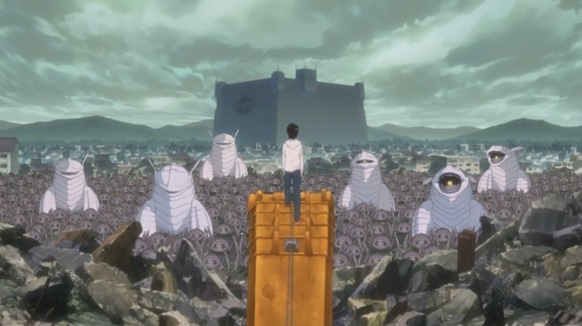 "World Trigger - 22 ""La Grande Invasion commence"" Vostfr HD"
