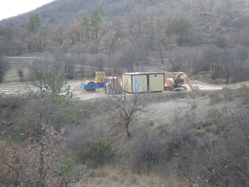 photos du chantier
