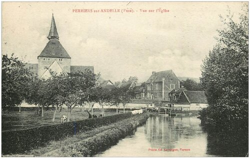 Perriers-sur-Andelle  ( Eure )