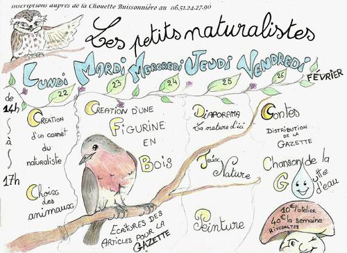 Semaine Les Petits Naturalistes!!!