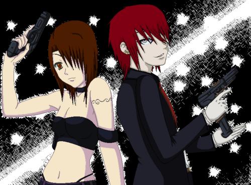 Le duo de choc : Olivia et Haru !!!