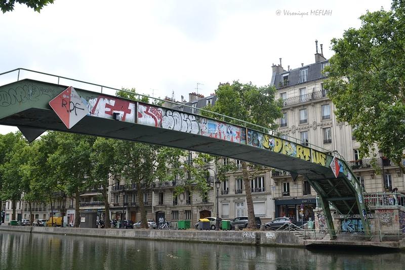 Canal Saint-Martin : photos pèle-mêle passerelles