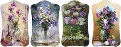 Les Iris - Cartonnettes !