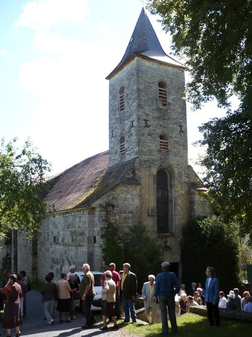 l'église de Dégagnazès