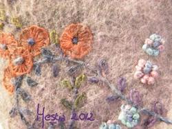 Eléphant violet détail