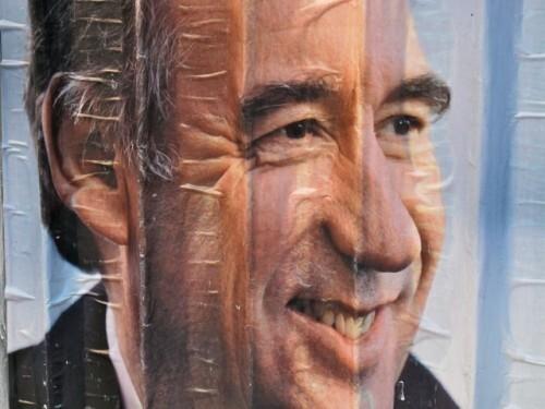 affiche élection présidentielle Bayrou 6691