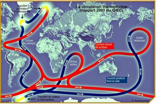 El Nino et la Nina.(1) : Les courants océaniques