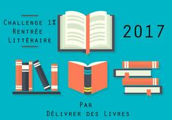 Challenge 1% de la rentrée littéraire 2017