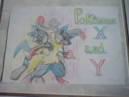 Dessin pour le concour Pokémon de Coeur Roux