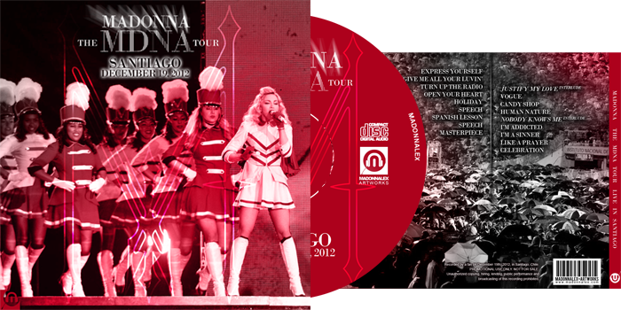 The MDNA Tour - Audio Live in Santiago