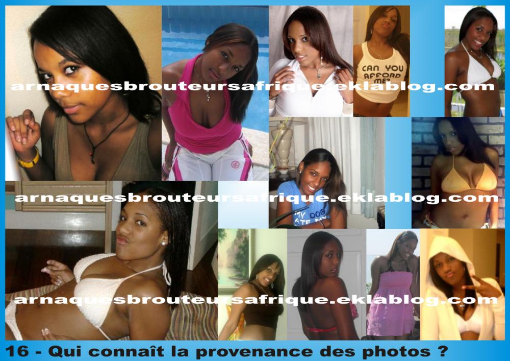 Qui connaît 16 - photos volées par des brouteurs ivoiriens pour arnaquer