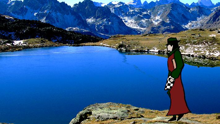 Le Menestre MJ au bord du lac