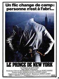 BOX OFFICE FRANCE 1982 LE PRINCE DE NEW YORK