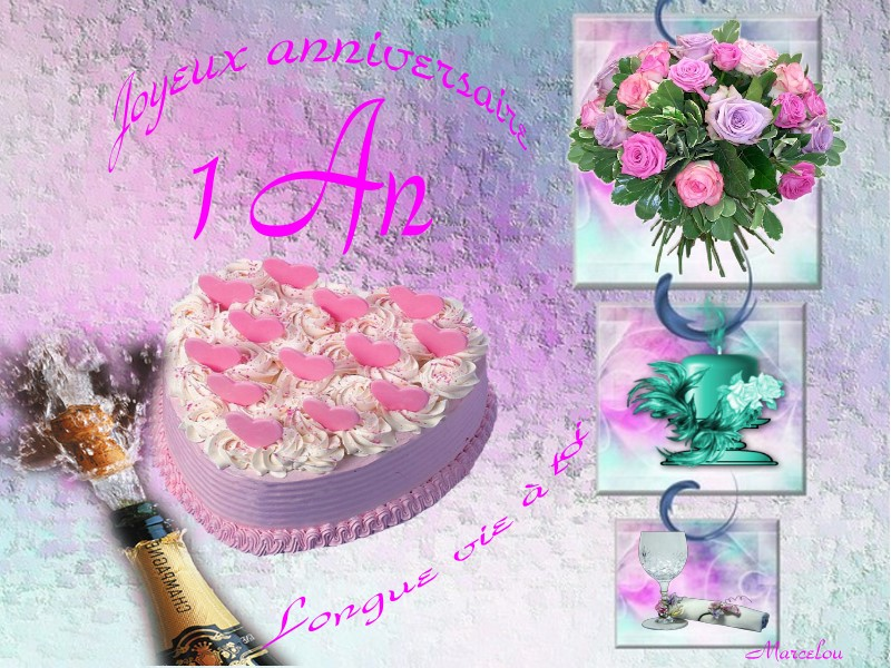 Anniversaire Fofo 1ans