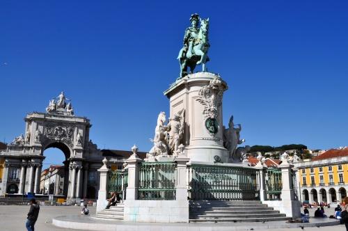 Lisbonne-Baixa - Ruas et praças...