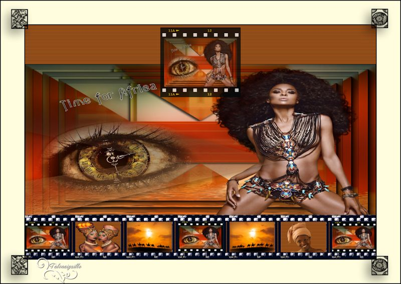 *** Time of Africa - renee graphisme ***