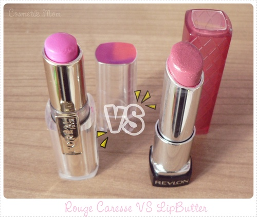 Lip Butter Revlon VS Rouge Caresse L'Oréal, le combat