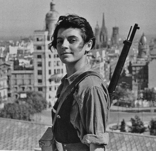 Gerda Taro témoin de la guerre d'Espagne