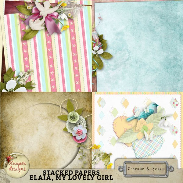 """Elaia, my lovely girl"" de Xuxper Designs"