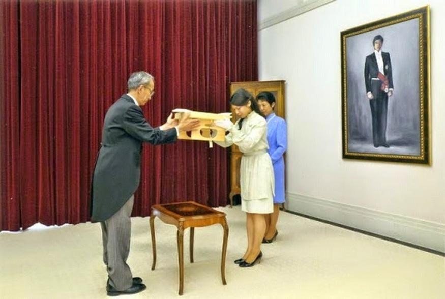 Kokki-no-Gi avant le mariage de Noriko