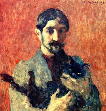 Les peintres, leur(s) chat et l'autoportrait
