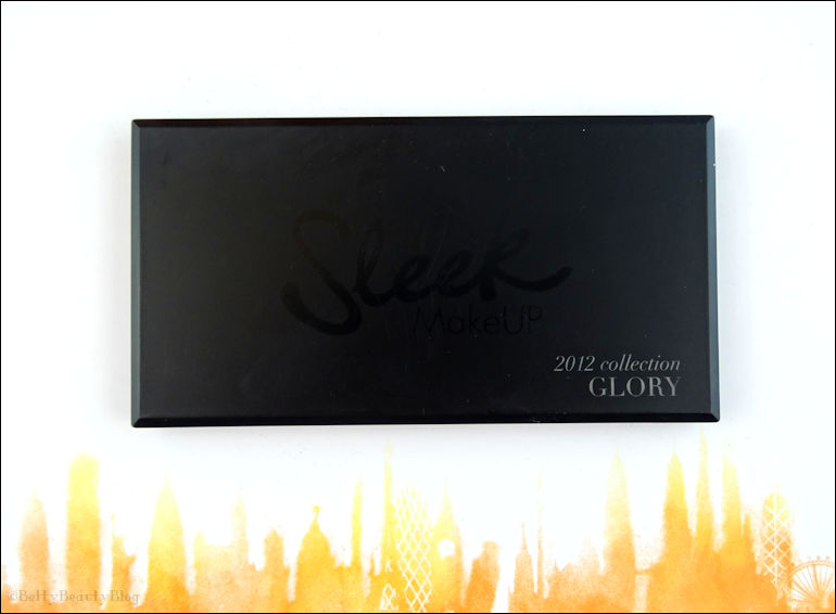 Glory de sleek une semaine (difficile) de maquillage