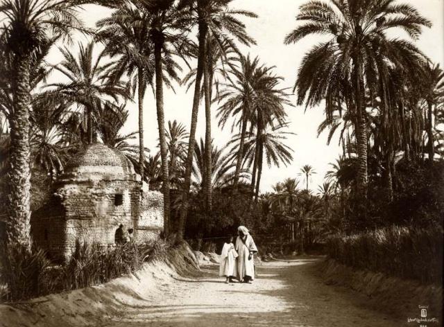 Promenade dans l'oasis. 1910
