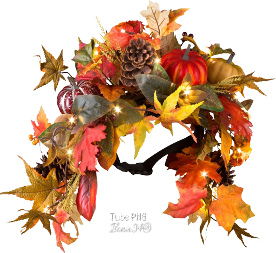 Tubes couronnes d'automne