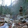 Mon cairn dans le ravin de Caillavérisse