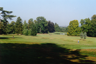 * La Tour Léopold et le Royal Golf Club d'Ardenne