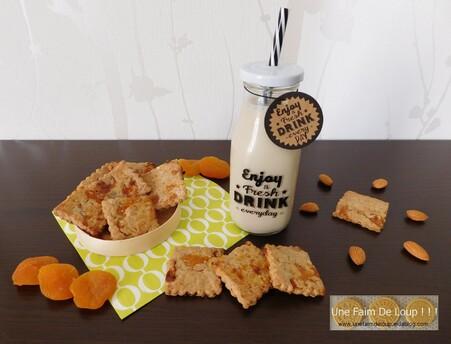 Biscuits vegan aux abricots secs