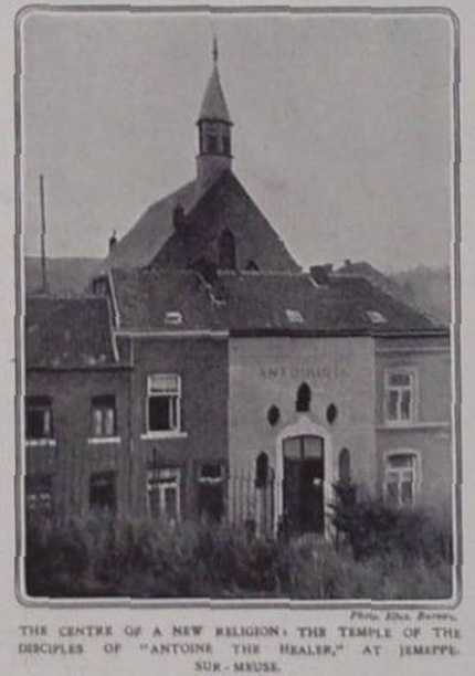 Temple de Jemeppe en 1910 (The Illustrated London News)
