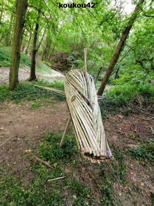 "Seyssuel. Le sentier ""Art-Nature"" 2021 (6)."