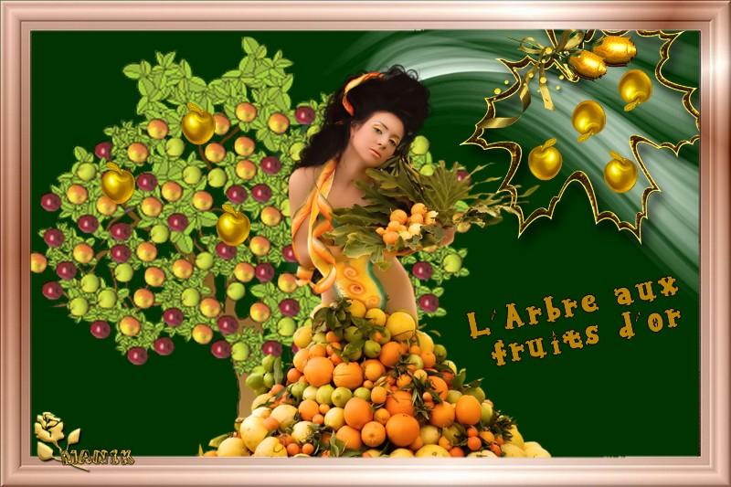 Défi pour Beauty ( l'arbre aux fruits d'or )