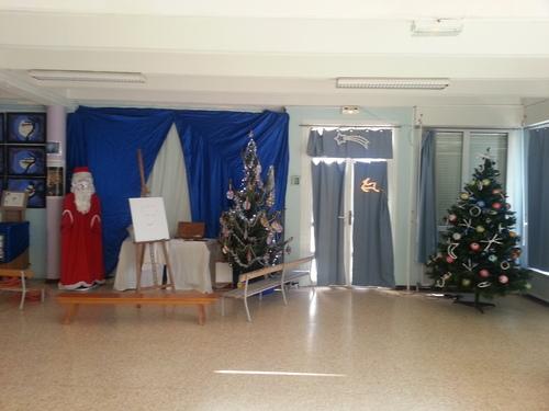 Noel se prépare à l'école