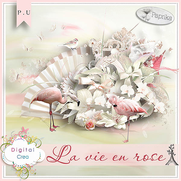 La vie en Rose by Paprika