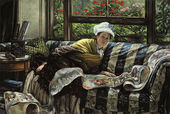 The Japanese Scroll - James Jacques Joseph Tissot - www.jamestissot.org
