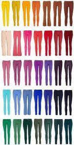 La mode des pantalons coloré !!