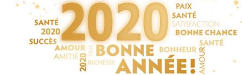 Bonne Année et Bonne santé 2020 !