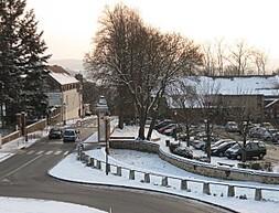 rue Ste Anne sous neige