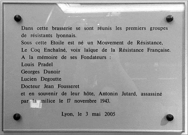 Jean Martin et la résistance à Lyon ( 1940 - 1945 )