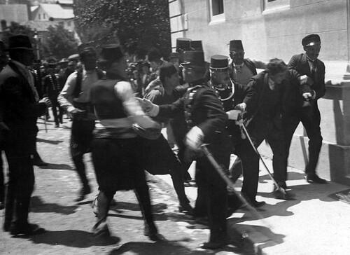 28 juin 1914 : Assassinat de l'Archiduc François-Ferdinand à Sarajevo