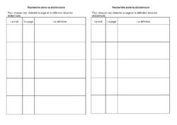 exercices, traces écrites
