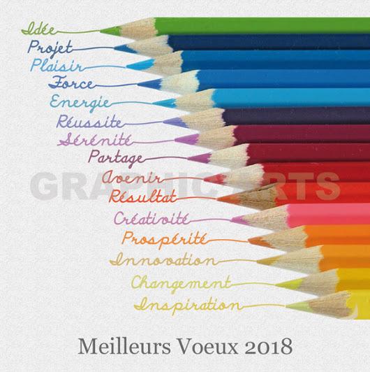 """Résultat de recherche d'images pour """"voeux 2018 originaux"""""""