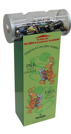 Kits recyclage de piles