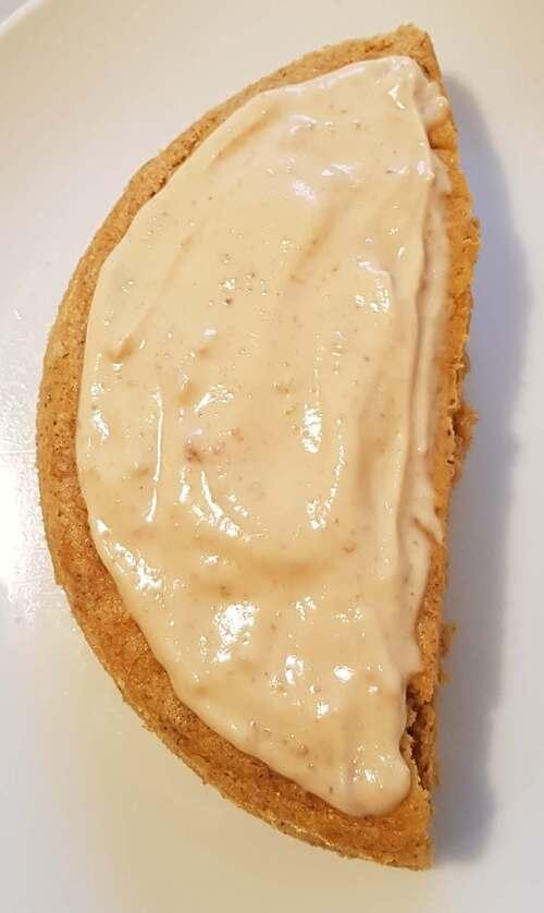 Fondant de farine complète & cacao (ou PB2) à la purée de courge (& patate douce), Quark, Flav'drops & Xylitol